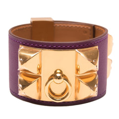 Hermes Anemone Swift Collier De Chien Cdc Bracelet Small Accessories
