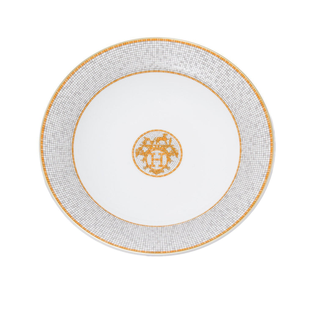 Hermes Mosaique Au 24 Porcelain Deep Platter Set Home