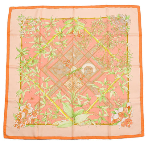 Hermes Serenite Silk Twill Scarf 90Cm Preloved Mint Scarves