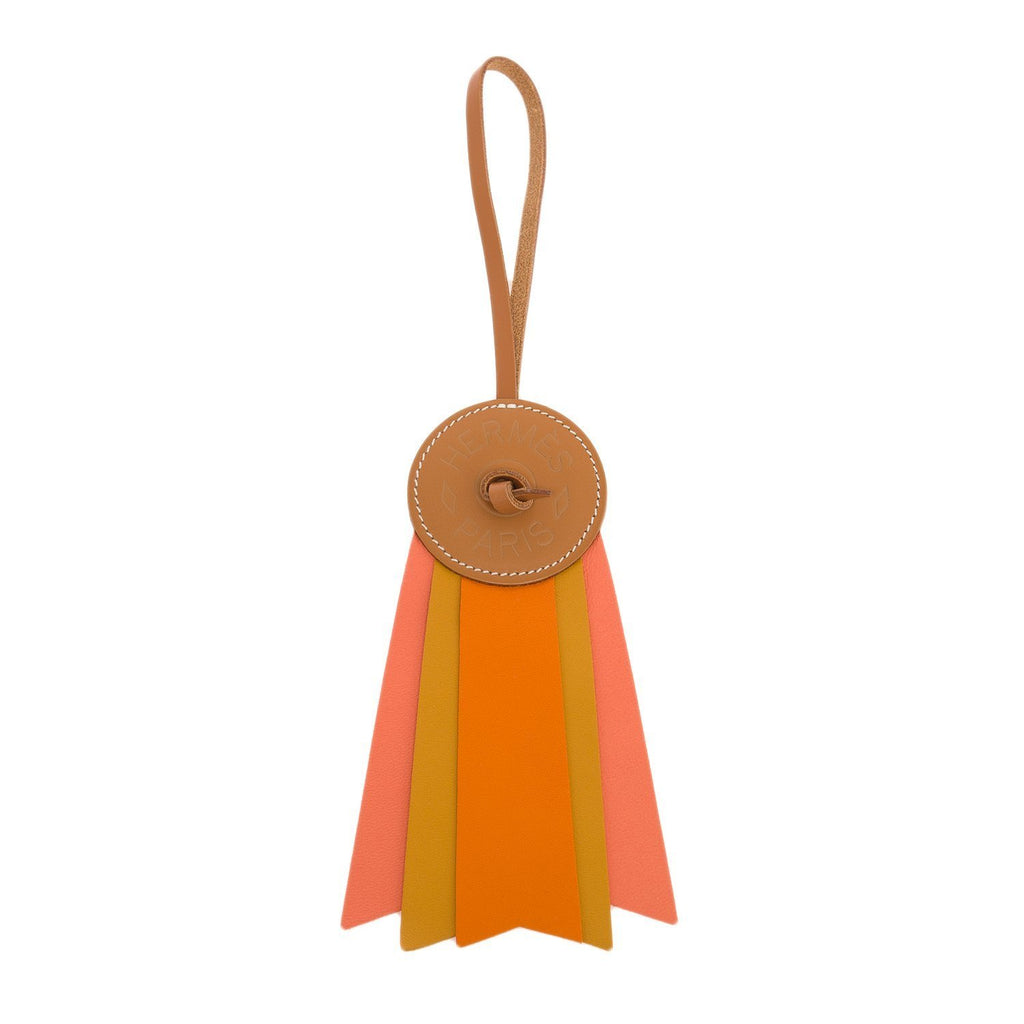 Hermes Paddock Flot Leather Bag Charm Accessories