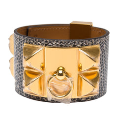 Hermes Ombre Lizard Collier De Chien Cdc Bracelet Small Accessories