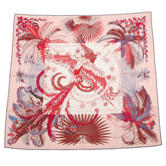 Hermes Mythiques Phoenix Coloriages Silk Twill Scarf 90Cm Scarves