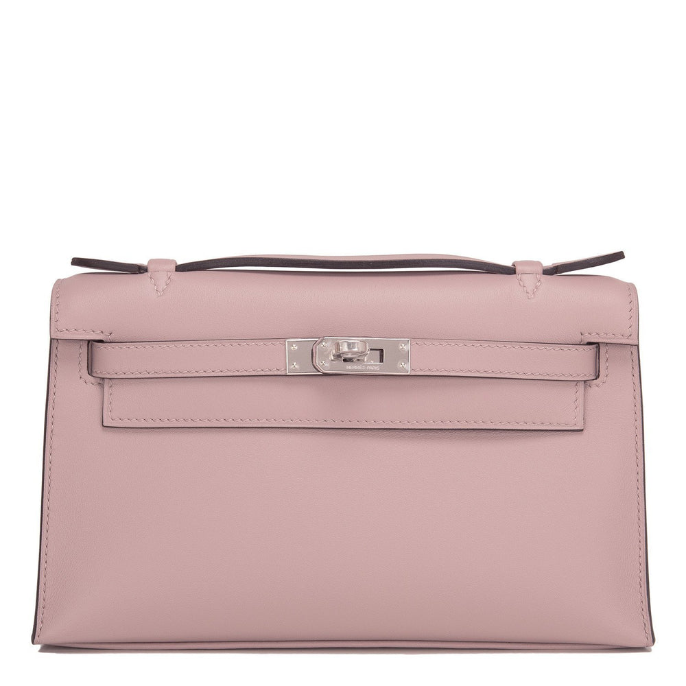 Hermes Glycine Swift Mini Kelly Pochette Handbags