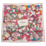 Hermes Metamorphoses Par Paris Silk Twill Scarf 90Cm Scarves