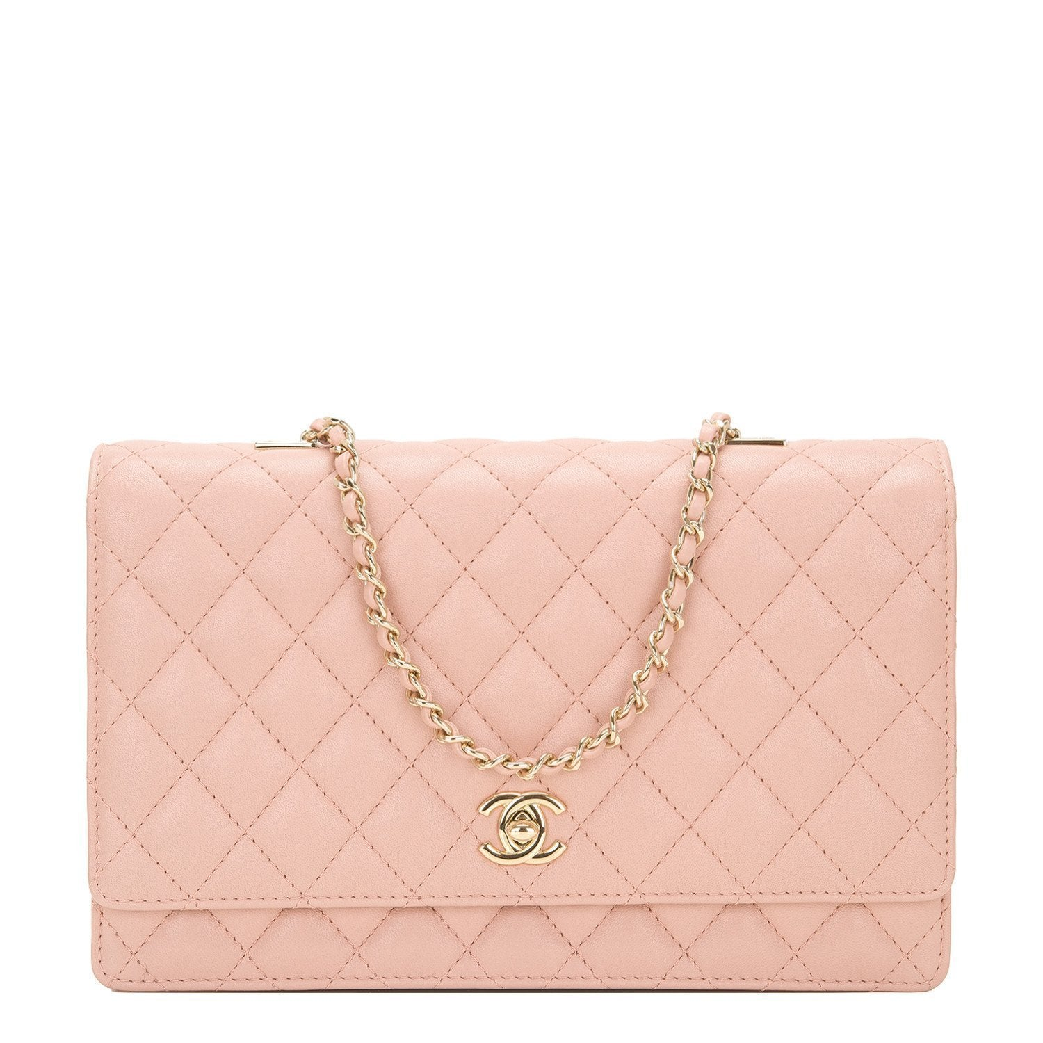 2460916266ff23 Chanel Nude Lambskin Fantasy Pearls Large Evening Flap Bag – Madison Avenue  Couture