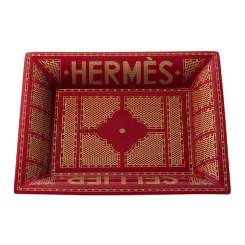 Hermes Sellier Porcelain Change Tray Home