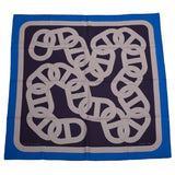 Hermes Circuit 24 Faubourg Silk Twill Scarf 90Cm Scarves