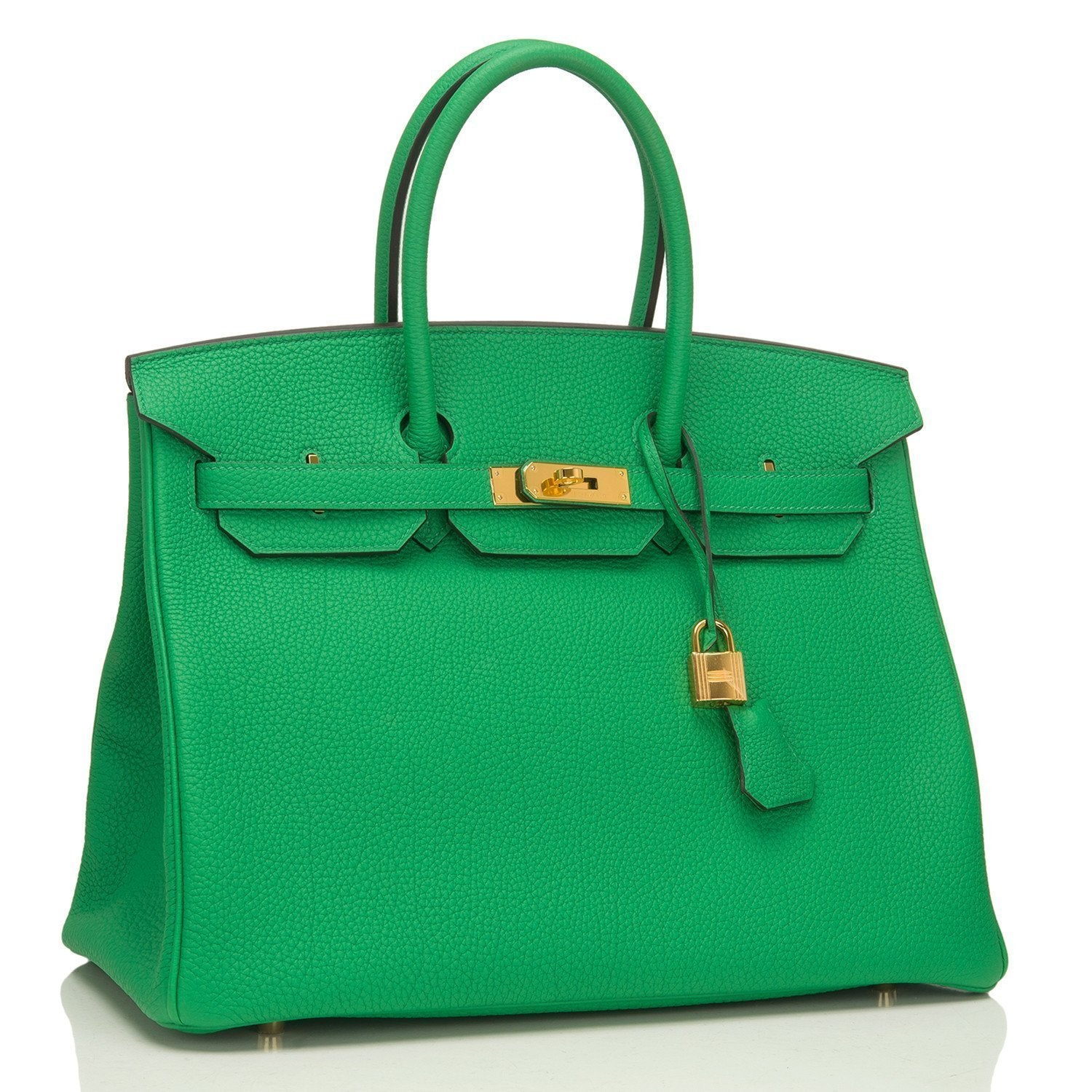 3e8f86a3000 Hermes Bamboo Togo Birkin 35cm Gold Hardware – Madison Avenue Couture