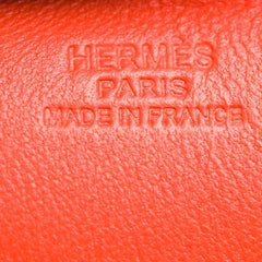 Hermes Orange Poppy Horse Rodeo Bag Charm Mm Accessories