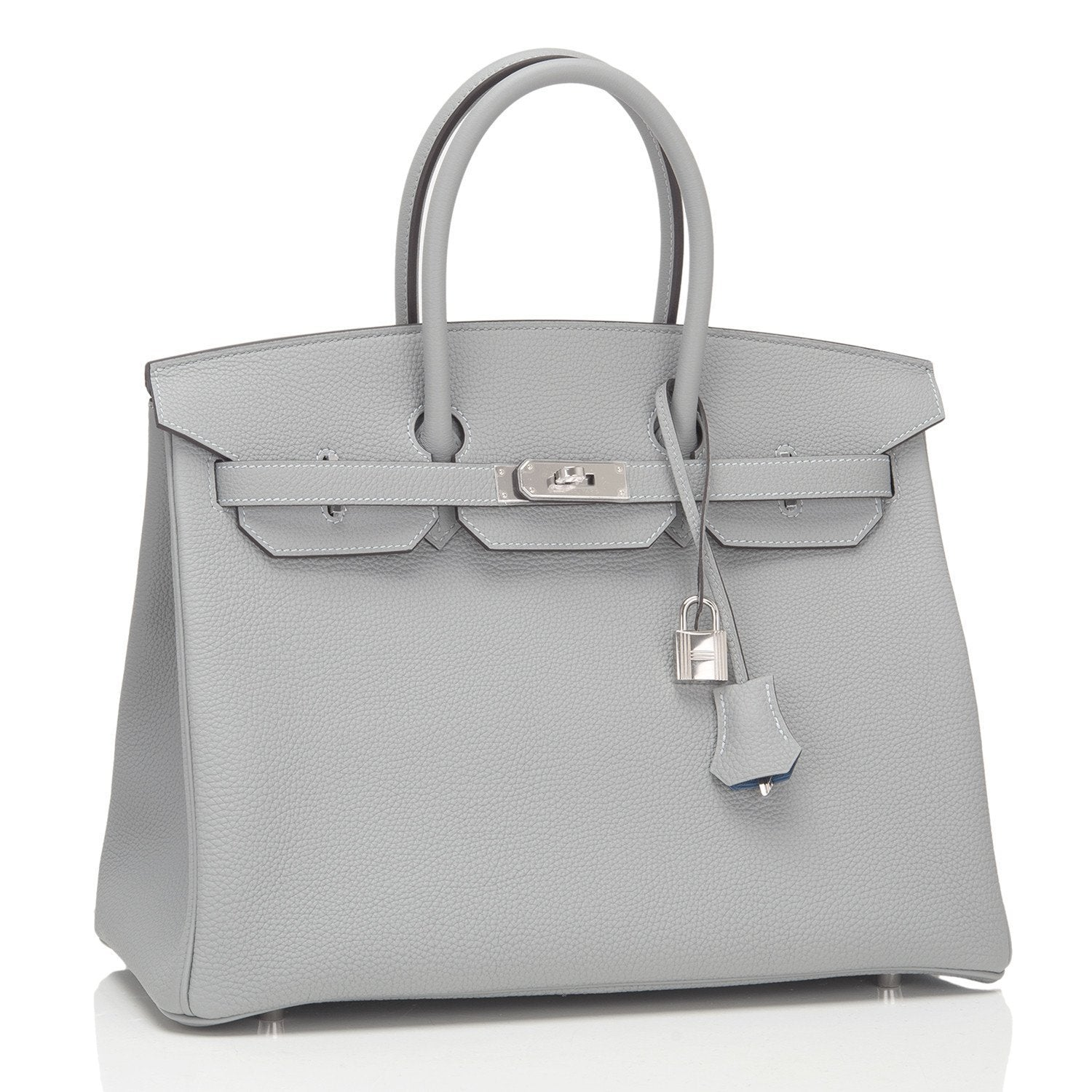 5a950aba9b8c Hermes Gris Mouette Verso Togo Birkin 35m PHW – Madison Avenue Couture