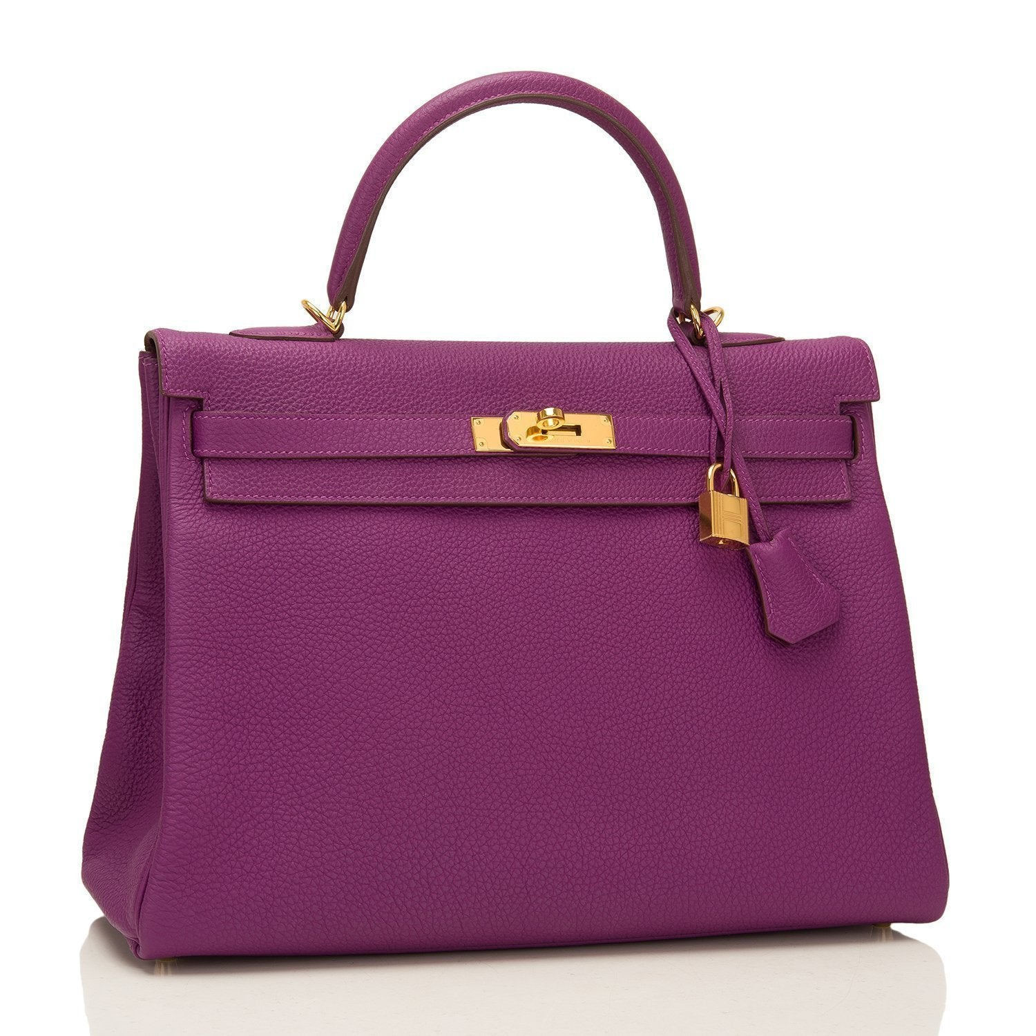 9507a2b8be07 Hermes Anemone Togo Retourne Kelly 35cm GHW – Madison Avenue Couture