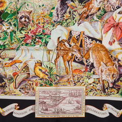 "Hermes ""Madison Avenue"" Silk Twill Scarf 90cm"