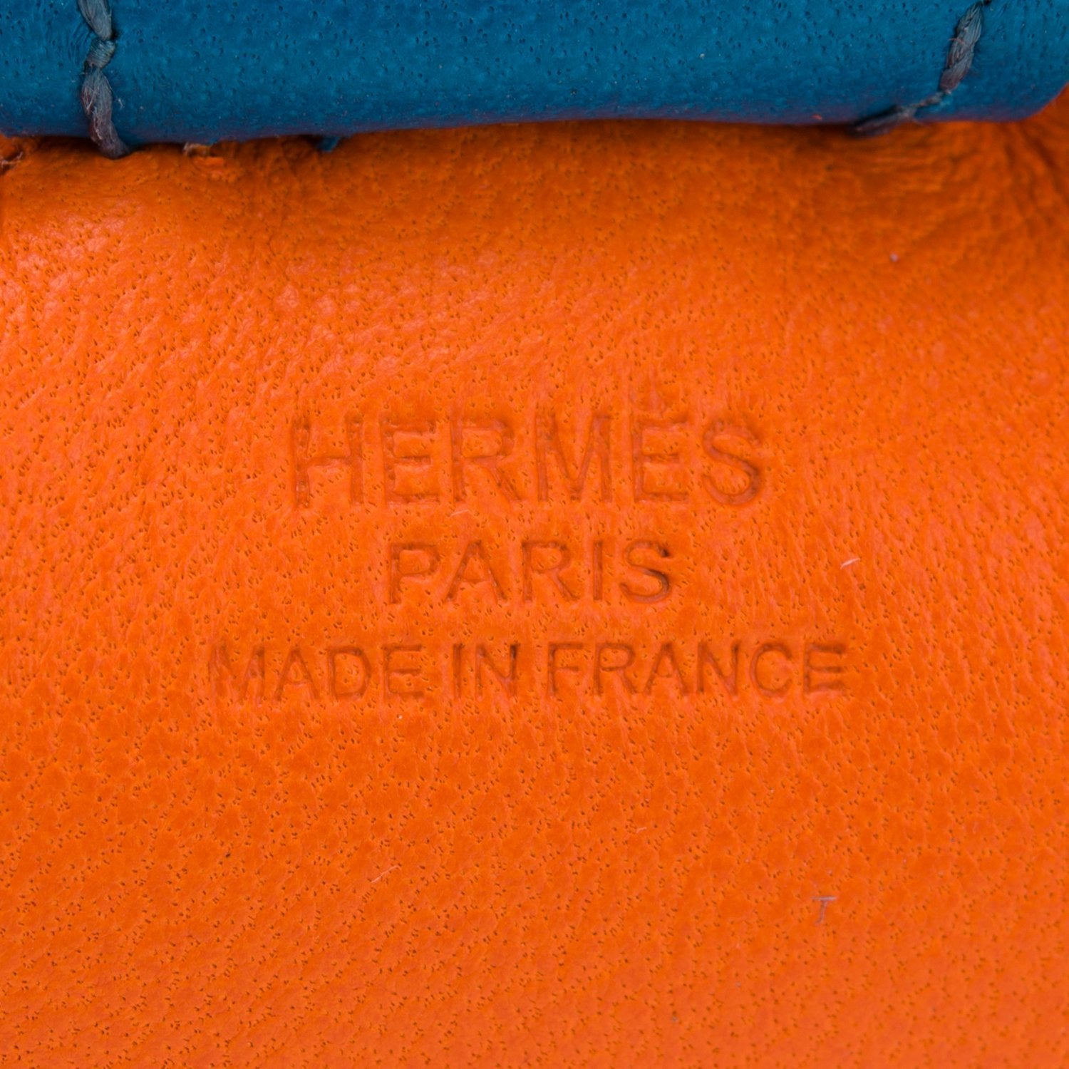 Hermes Feu Horse Rodeo Bag Charm Pm Accessories