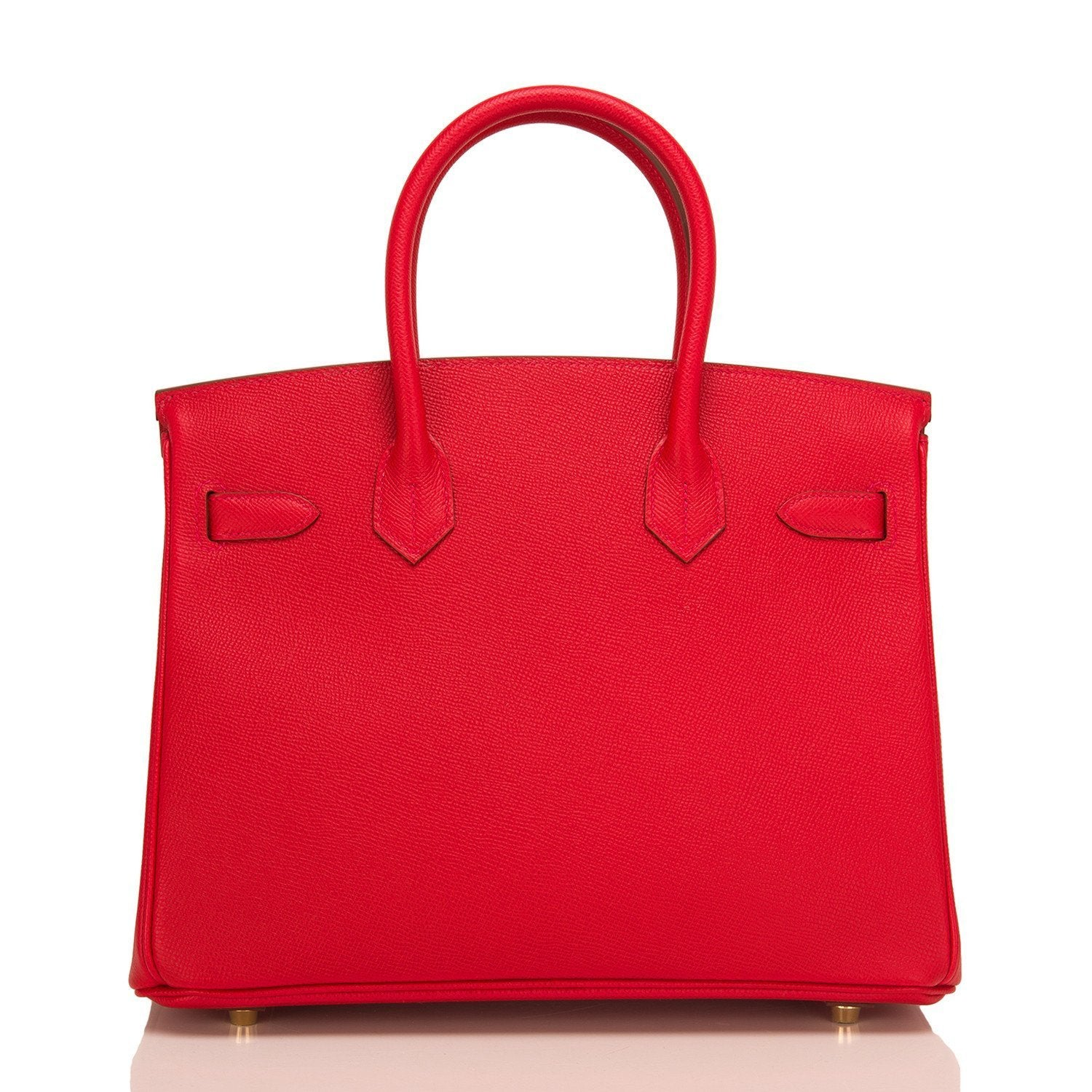 ea27b6a14331 Hermes Rouge Casaque Epsom Birkin 30cm Gold Hardware – Madison Avenue  Couture