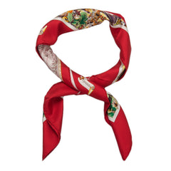 Hermes Madison Avenue Silk Twill Scarf 90Cm Scarves