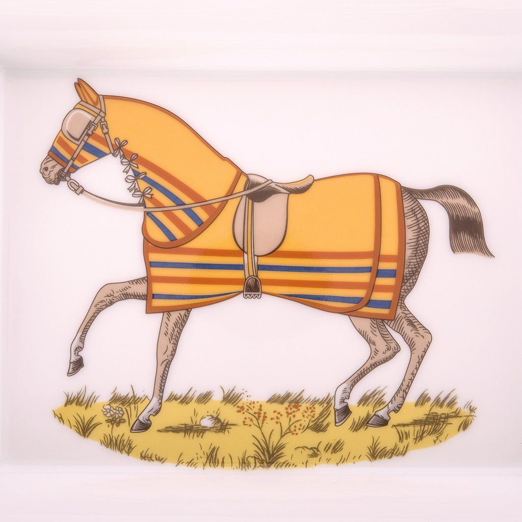 Hermes Chevaux A La Couverture 2 Ashtray