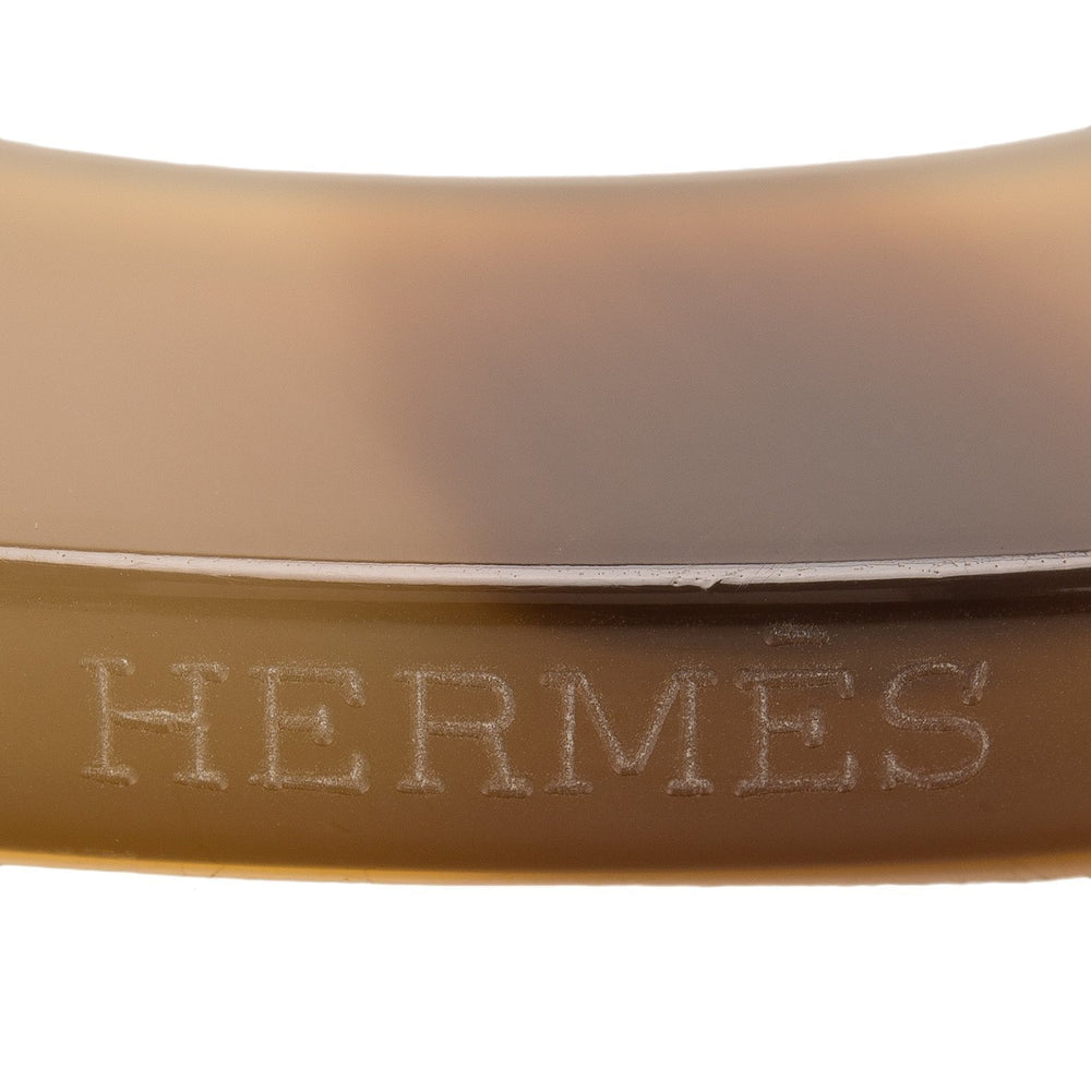 Hermes Isthme Lacquered Buffalo Horn Pendant Accessories