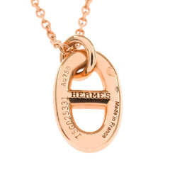 Hermes Rose Gold Farandole Pendant Necklace Pm Accessories
