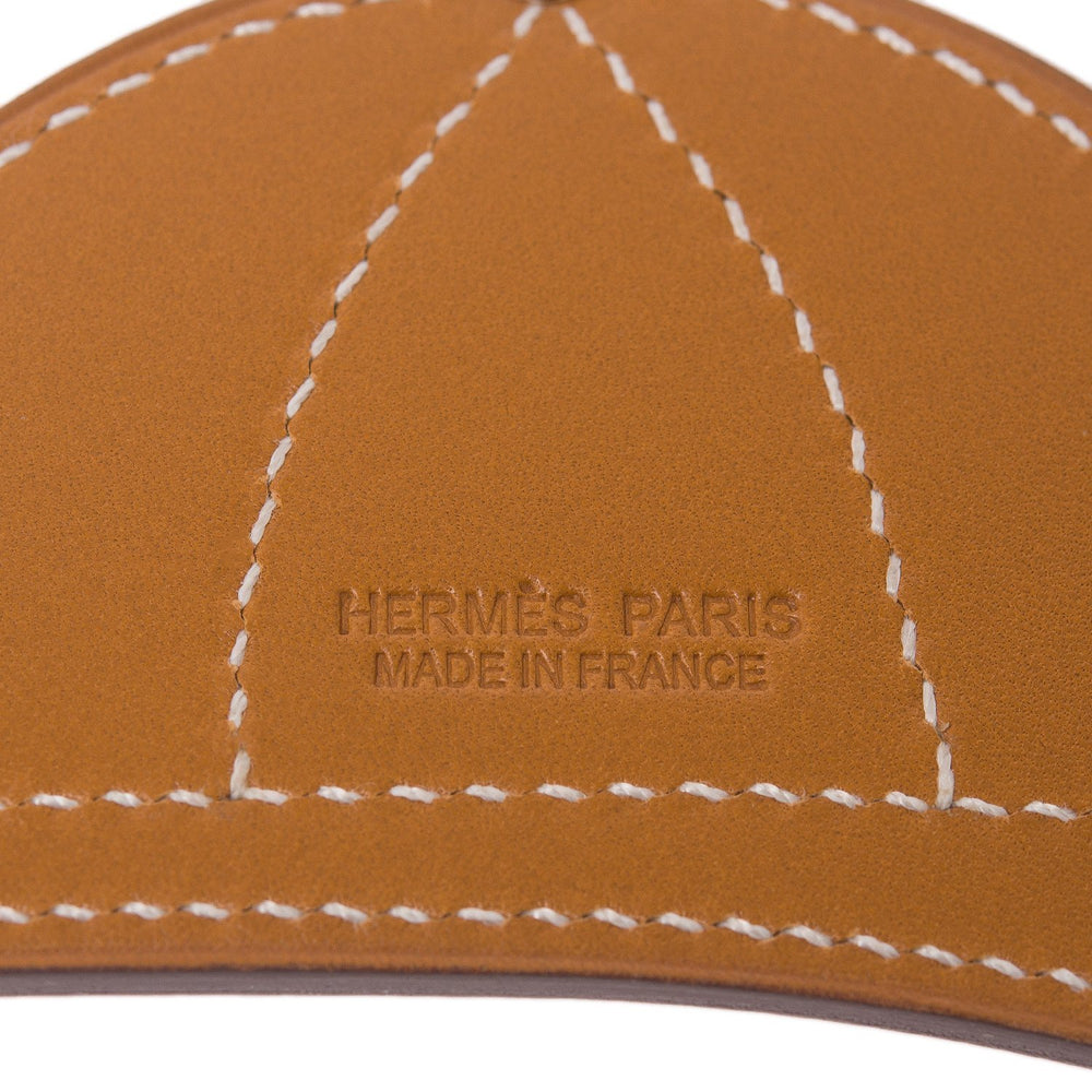 Hermes Paddock Bombe Helmet Leather Bag Charm Pm Accessories