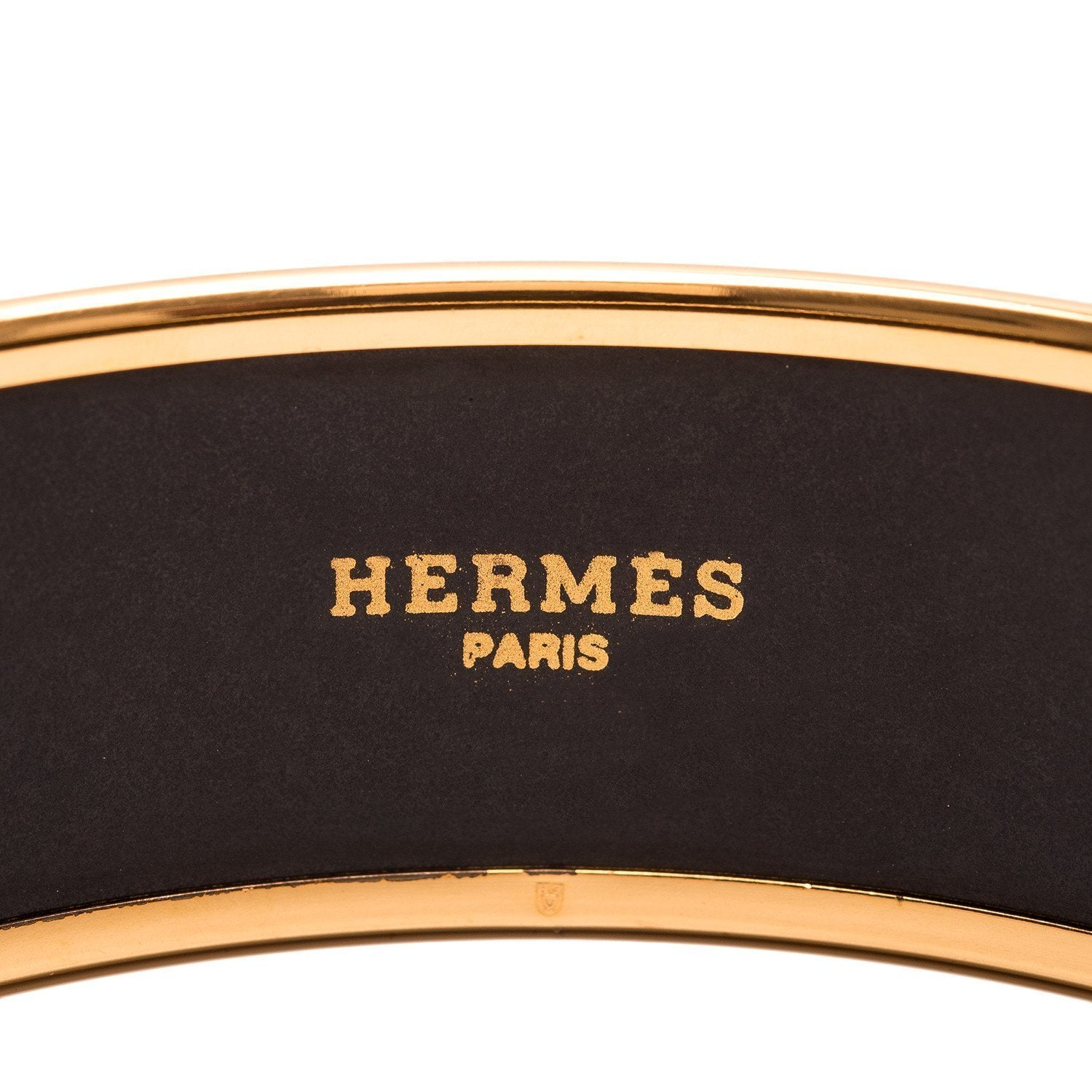 Hermes Grand Apparat Printed Enamel Wide Bracelet Gm 70 Accessories