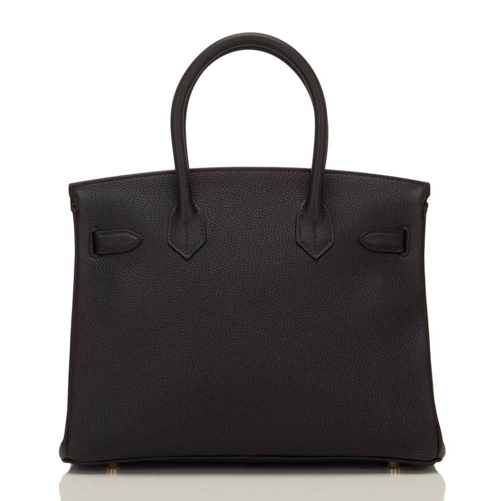 Hermes Black Togo Birkin 30Cm Gold Hardware Handbags