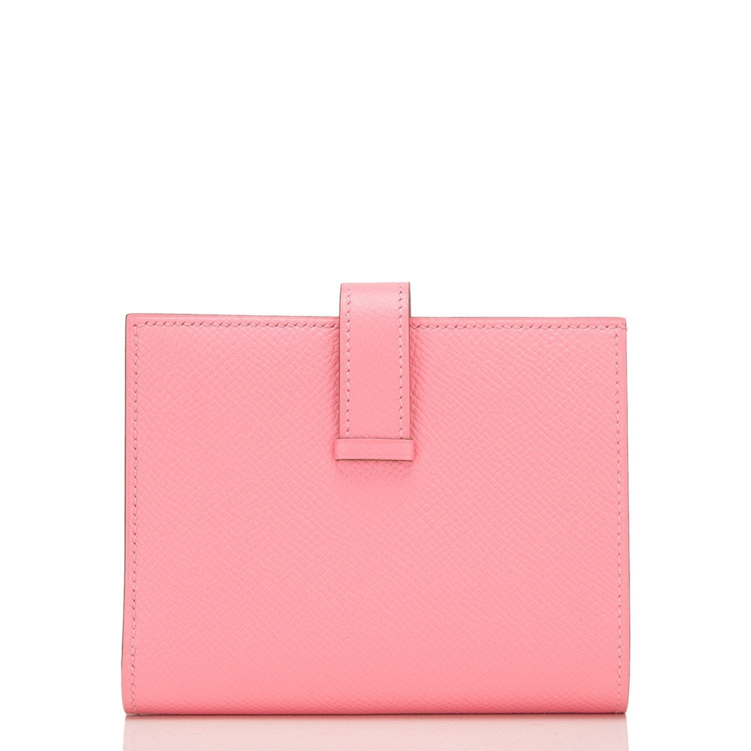 Hermes Rose Confetti Epsom Compact Bearn Wallet GHW – Madison Avenue ... 1392101a9dc03