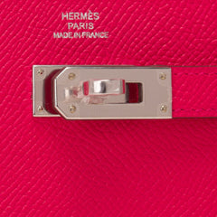 Hermes Rose Extreme Epsom Kelly Long Wallet Accessories