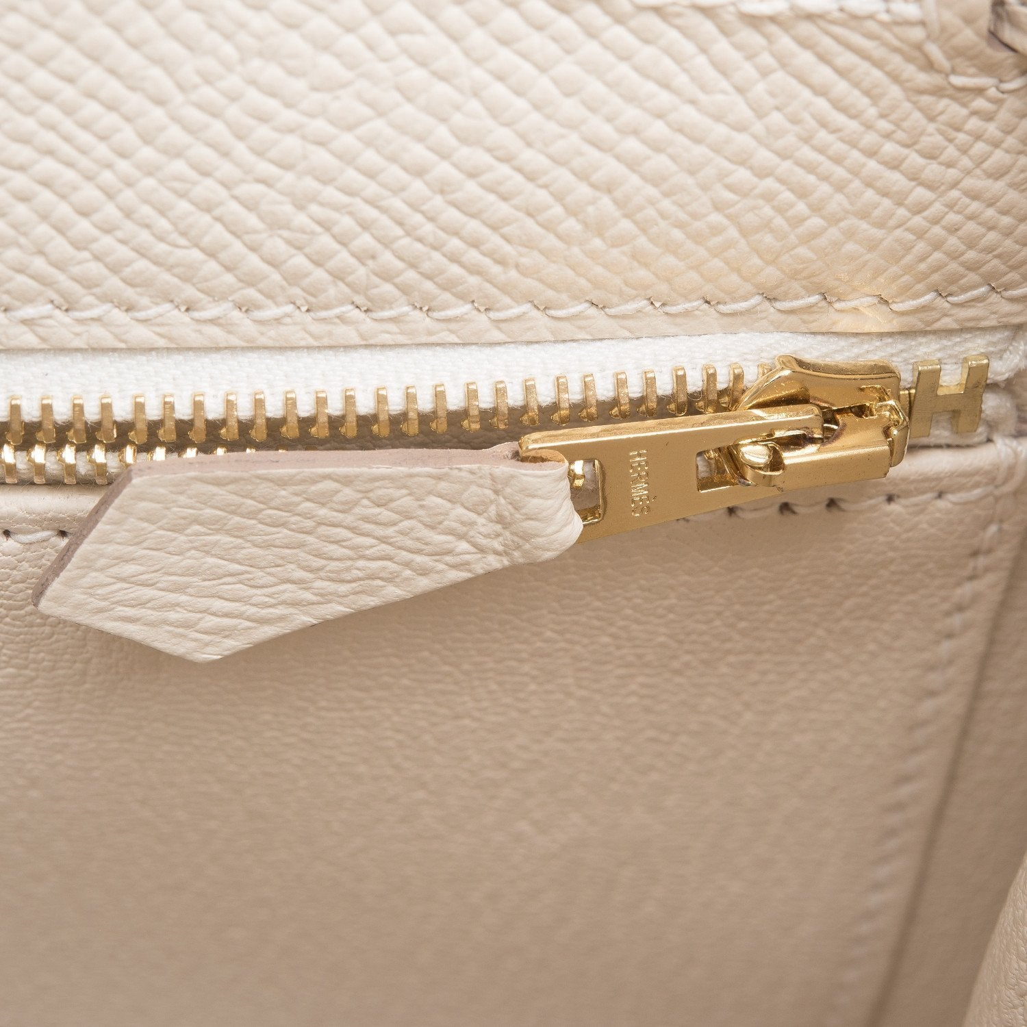 Hermes Craie Epsom Sellier Kelly 28Cm Gold Hardware Handbags