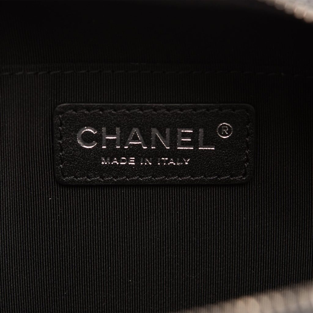 Chanel Black Quilted Calfskin Waist Bag (Fanny Pack)