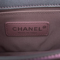 "Chanel PVC Iridescent Patent Calfskin ""Water Boy"" Small Boy Bag"