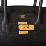 Hermes Black Togo Birkin 30cm Gold Hardware (Preloved - Mint)
