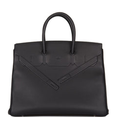 Hermes Black Swift Shadow Birkin 35cm
