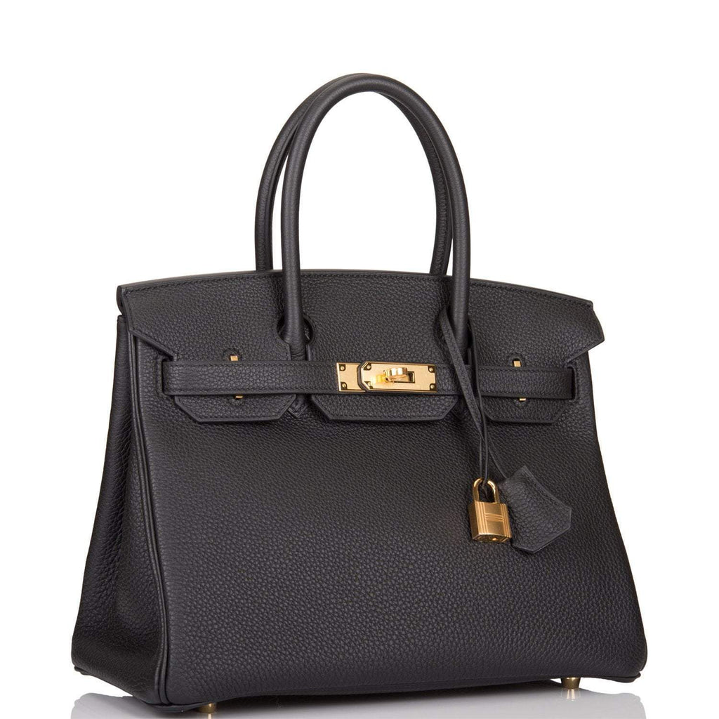 Hermes Black Togo Birkin 30cm Gold Hardware For C Tse Part 2