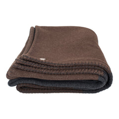 Hermes Avione Marron and Anthracite Blanket