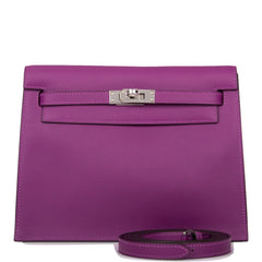 Hermes Anemone Evercolor Kelly Danse Palladium Hardware