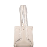 Hermes Nata Clemence Kelly Ado II Backpack Palladium Hardware