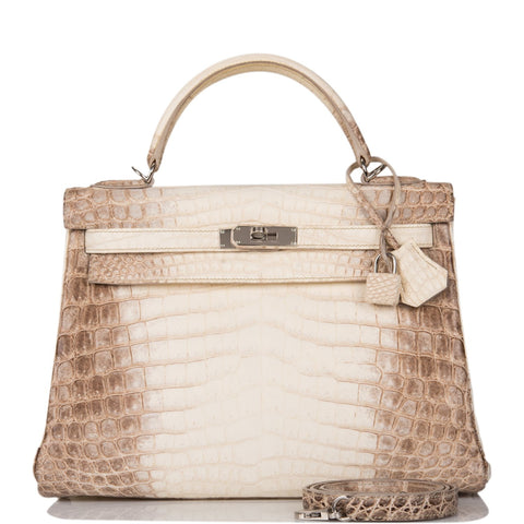 Hermes Rose Tyrien Ostrich Sellier Kelly 25cm Palladium Hardware