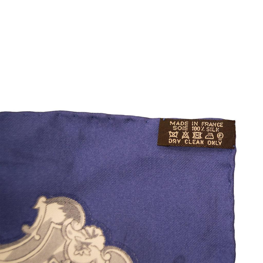 "Hermes ""Les Cles"" Giant Silk Shawl Scarf 140cm"