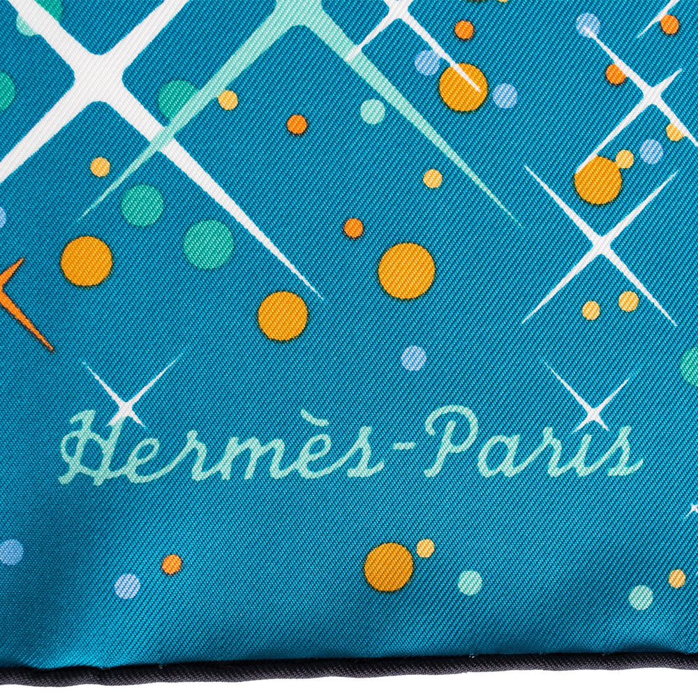 "Hermes ""Magic Kelly"" Silk Twill Scarf 90cm"