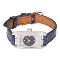 Hermes Limited Edition Nantucket Aventurine Diamond 18-K Gold Watch