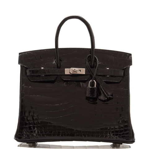 "Hermes  ""One Two Three and Away We Go"" Limited Edition Birkin 25cm Palladium Hardware"