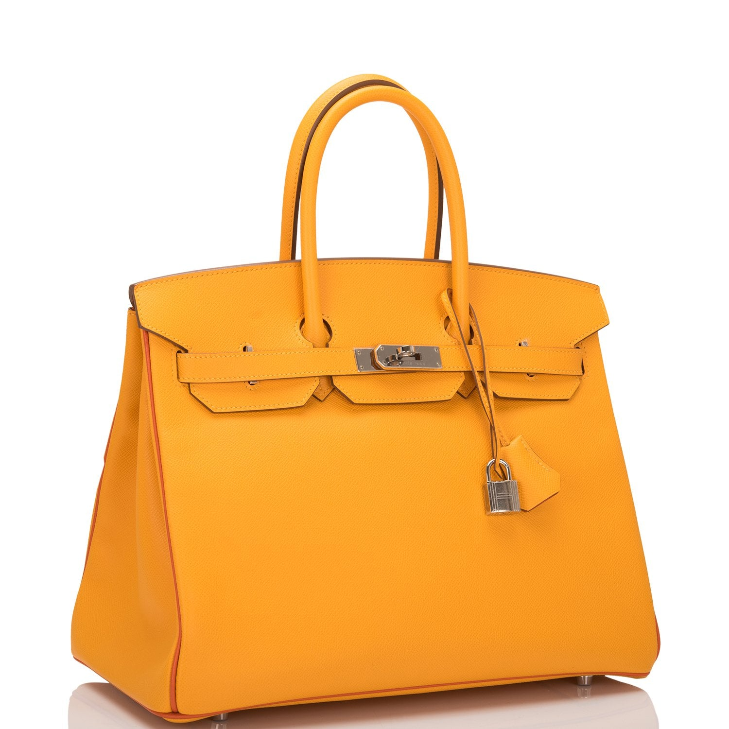 179e08b03817 Hermes HSS SO Bi-Color Jaune D Or and Sanguine Epsom Birkin 35cm PHW –  Madison Avenue Couture