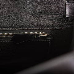 Hermes SO Black Box Birkin 30cm Black Hardware