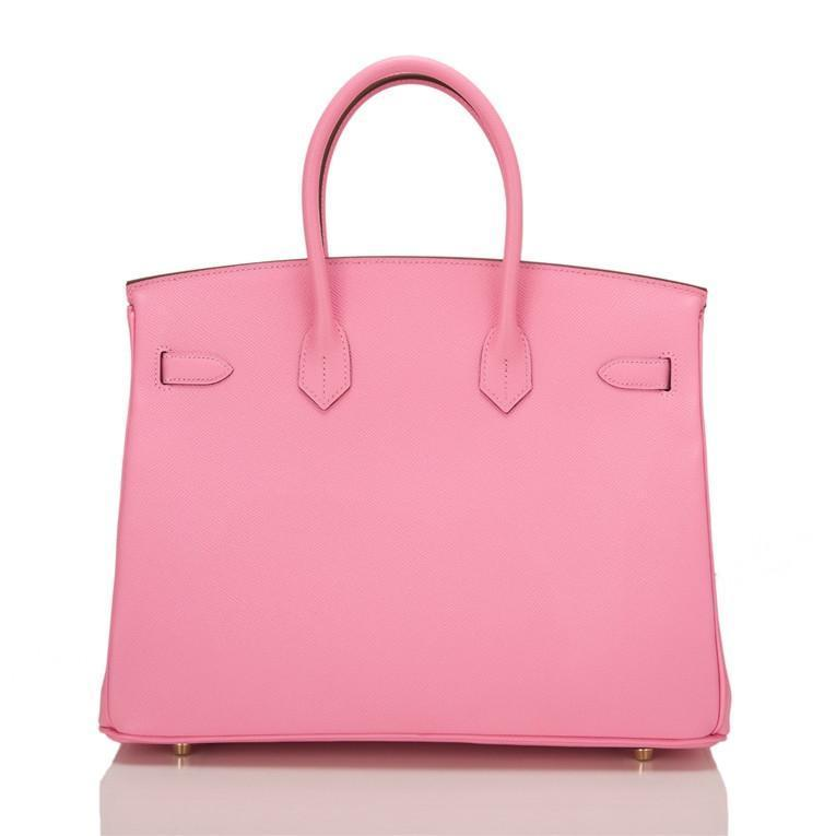 ... france hermes hss bubblegum pink and tosca epsom birkin 35cm brushed  gold hardware 3d3c5 7108b 00c6d7e07699a