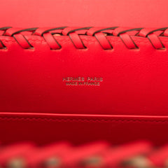 Hermes Rouge de Coeur Mini Picnic Kelly Bag 20cm