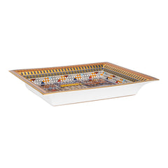 "Hermes ""Collier de Chien"" Porcelain Change Tray"