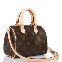 Louis Vuitton Monogram Nano Speedy