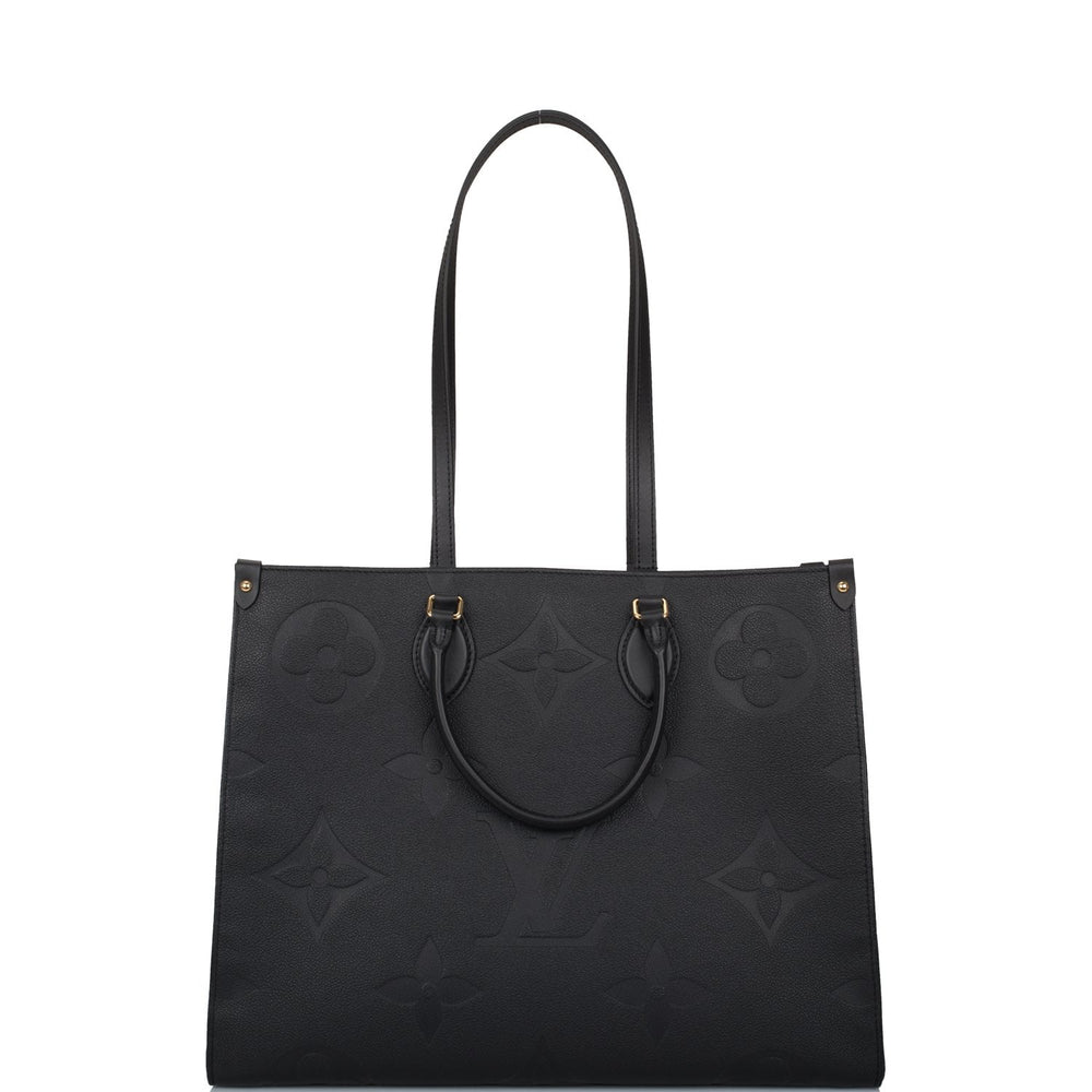 Louis Vuitton Black Empreinte Giant Monogram OnTheGo Tote