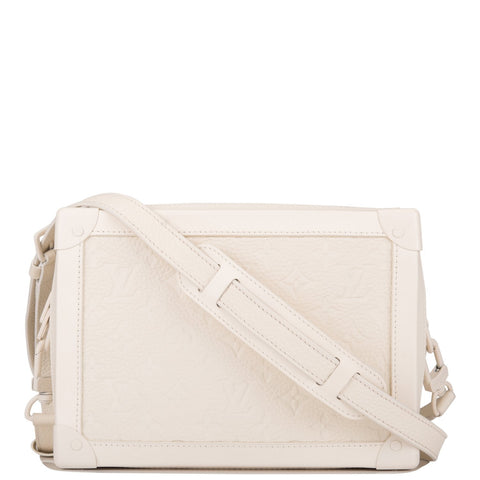 Louis Vuitton x Virgil Abloh White Soft Trunk Bag