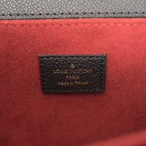 Louis Vuitton Bicolor Black Monogram Empreinte Pochette Metis